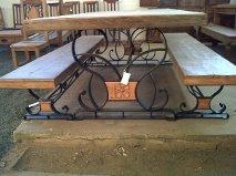 Conjunto bancos com mesa MF02